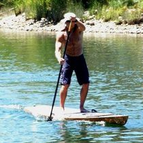stand-up paddle-board (SUP, wooden) KAHOLO ARWEN MARINE
