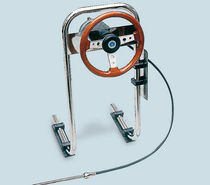 steering system for inflatable motor-boat P.65 Mavi Mare