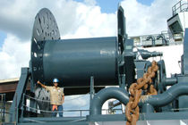 storage winch for ships  Coastal Marine Equipment Inc