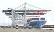 super post-panamax container gantry crane (ship-to-shore)  Mitsui Engineering & Shipbuilding