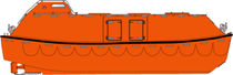 totally enclosed lifeboat for ships MAGGIE 10.7 - 90 P Norsafe
