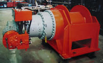 towing winch (hydraulic drive, single drum)  C.M.T