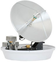 TV - internet satellite marine antenna (VSAT, for boat) SC-60 KU EPAK