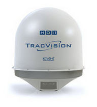 TV satellite marine antenna (for boat) TRACVISION HD11 KVH