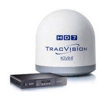 TV satellite marine antenna (for boat) TRACVISION HD7 KVH