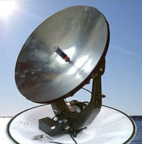 TV satellite marine antenna (VSAT, for boat) BB100CF Radiotech Communication Technologies 