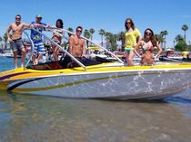 wakeboard boat : bow-rider runabout 22E Nordic Boats