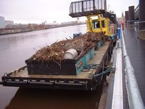 waste recovery barge TWIN SKIPPER BARGE Water Witch Workboats
