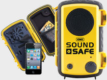 waterproof mobile phone housing (for iPhone) SOUND SAFE GME electrophones