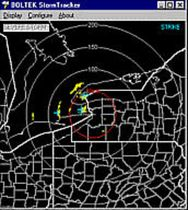 weather software for boats STORM TRACKER Boltek