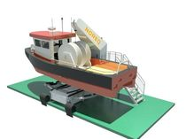 work-boat davit for ships NPWD SERIES Noreq