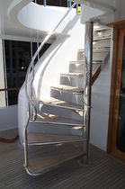 yacht furniture : stairs  Mar Quipt