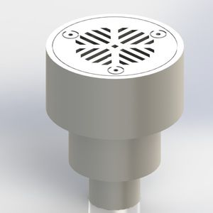Metal Floor Drain For Boats Yachts Round