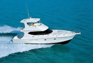 Sport Fishing Motor Yacht Convertible Flybridge Planing Hull