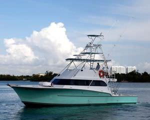 Sport Fishing Motor Yacht Flybridge Planing Hull Custom