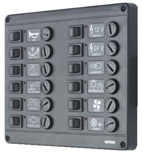 boat switch panel