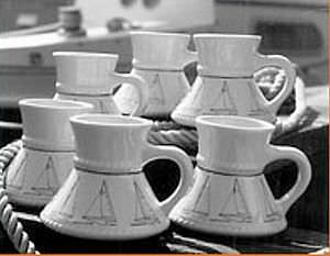 Tableware for boats - All boating and marine industry manufacturers