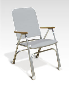 Standard Boat Chair / For Yachts / With Armrests / Folding