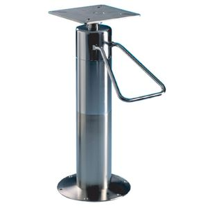 Adjustable seat pedestal all boating and marine industry boat helm seat pedestal adjustable hydraulic stainless steel watchthetrailerfo