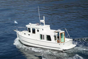Inboard trawler - 28' PILOTHOUSE - North Pacific Yachts