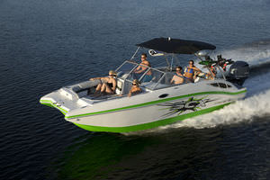 New Hurricane Deck Boats for sale. SunDeck Sport FunDeck 187, 188 ...