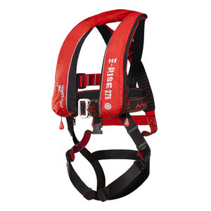 47362 11843934 self inflating life jacket with safety harness fire retardant