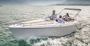 Amazing Electric Cabin Cruiser / Inboard
