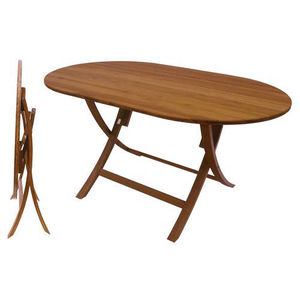 Boat Standard Table / For Yachts / Folding / Wooden