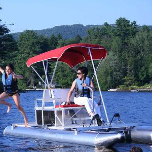 Aluminum pedal boat