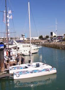 Catamaran sailboat / coastal cruising