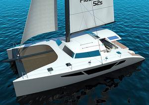 Catamaran sailboat / cruising / carbon mast