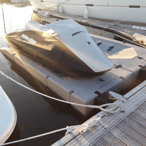 floating platform / for marinas / for jet ski extension / jet-ski