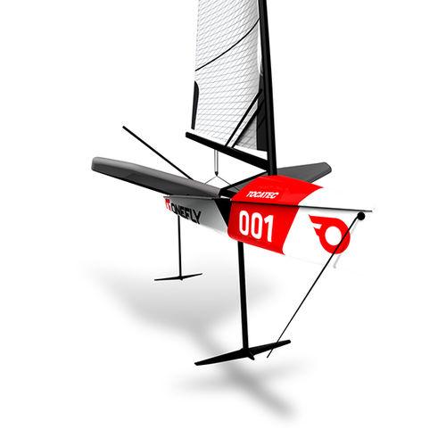 single-handed sailing dinghy / regatta / foiling / double-trapeze
