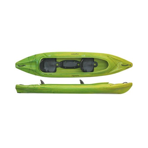 sit-on-top kayak / rigid / recreational / 3-person