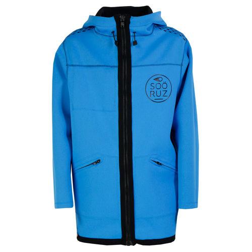 navigation jacket / men's / neoprene / hooded