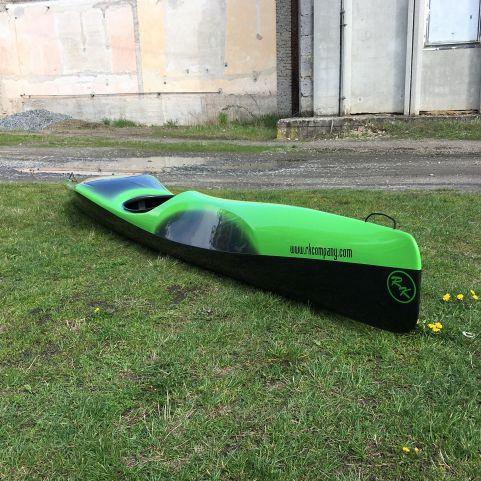 rigid kayak / river running / solo