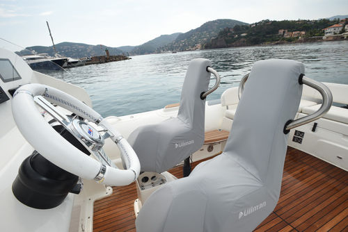 Yacht tender inflatable boat / outboard / twin-engine / semi-rigid Grand 850 Avon