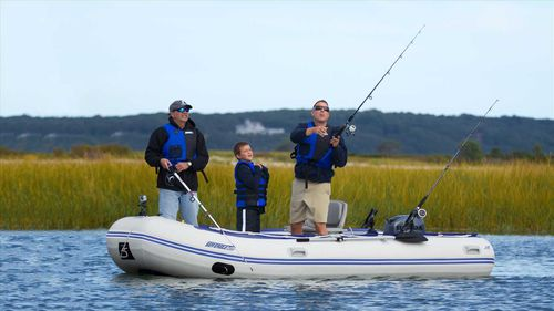Outboard inflatable boat / foldable / sport / 7-person max. 14 SR SeaEagle.com