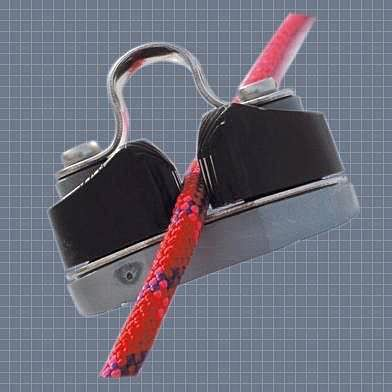 sailboat cam-cleat / with fairlead / jaw