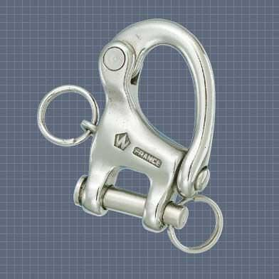 snap shackle with fork