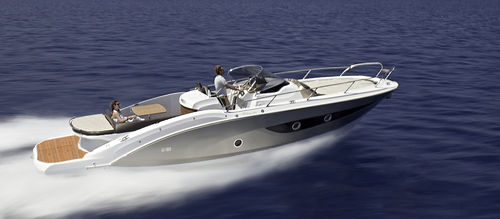 inboard walkaround / center console / 10-person max. / with cabin
