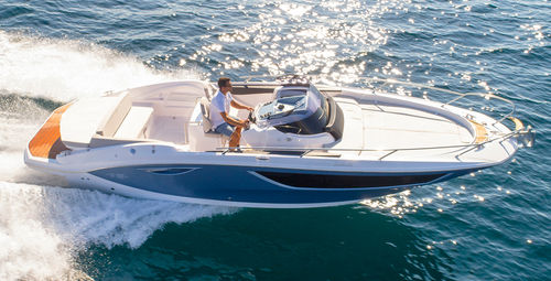 inboard walkaround / center console / 8-person max. / with cabin