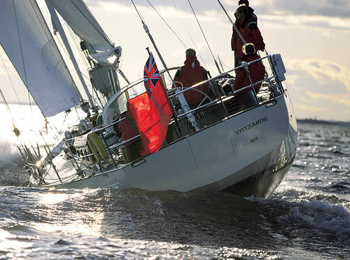 Cruising-racing sailing yacht / open transom / carbon / custom BALTIC 70 VITTFARNE Baltic Yachts