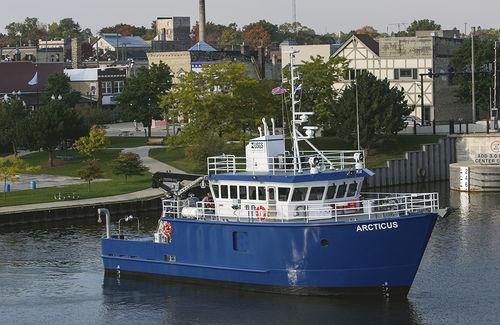 oceanographic research ship - Burger