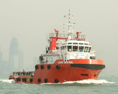 Anchor-handling tugboat (AHT) offshore support vessel 48M  Cheoy Lee