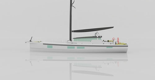 Monohull / ocean cruising / deck saloon / with 2 or 3 cabins COMET 46 EX Comar Yachts