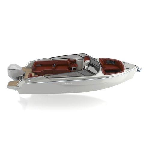 outboard runabout / bowrider / dual-console