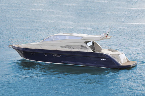 cruising motor yacht / hard-top / planing hull