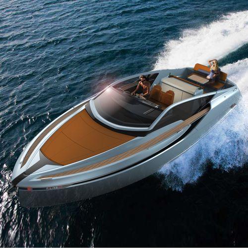 inboard express cruiser / diesel / twin-engine / 10-person max.