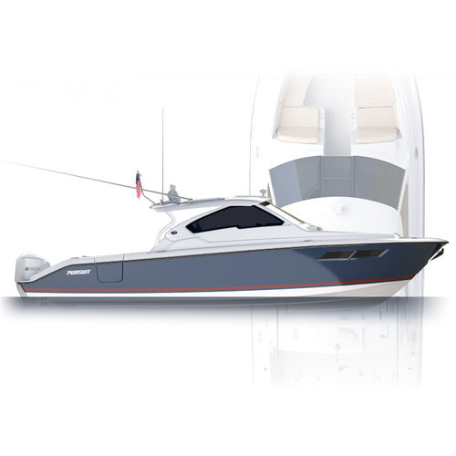 outboard express cruiser - Pursuit Boats